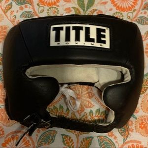Other - Title Boxing Head Gear MMA